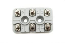 Terminal Blocks special-AEG-types, version c, 6-pole